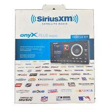 Sirius Xm Onyx Plus Satellite Radio & Vehicle kit Black Model: Sxpl1V1 open box