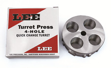 Lee Replacement 4 Hole Turret Quick Caliber Change 90269