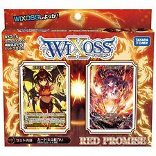 TAKARA TOMY WIXOSS WXD-15 TCG PRE-BUILT DECK RED PROMISE WX86250