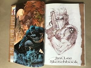 BATMAN 608 FRENCH EXCLUSIVE VARIANT RRP JIM LEE SKETCHBOOK Special Edition