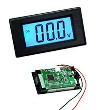New 2-wire DC 3.5-30V LCD Digital Blue Volt Panel Meter Voltmeter Monitor New