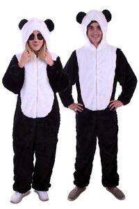 ★ Bär,Panda Schwarze Weiß Bear Kostüm Tier ,Tierkostüm S,M,L,XL Unisex,Tieren