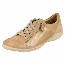Lace-Ups Synthetic Leather Regular Flats for Women