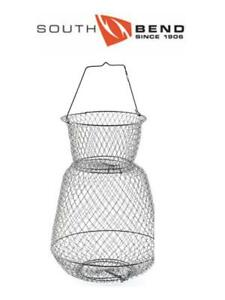 South Bend Round Wire Fish Basket 13IN x 18IN B666