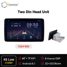 "10"" Android 8.1 Car Radio Auto Video Player Universal 2-Din Support GPS Navi DSP"