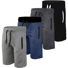 Men Plain Jogger Gym Running Shorts Pants Cotton Half Trousers Summer Sweatshort