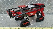 1/64 ERTL CUSTOM FARM TOY MILLER NITRO 6500 SPRAYER APPLICATOR & QUAD ROW TRACKS