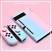 Pink Blue Protective Cover Hard Case Shell For Nintendo Switch Console Jon-Con