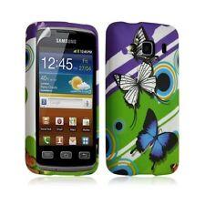 Housse coque étui gel pour Samsung Galaxy XCOVER S5690 motif HF22 + Film protect