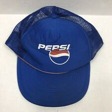 Vintage Pepsi Blue Snapback Hat Madhatter
