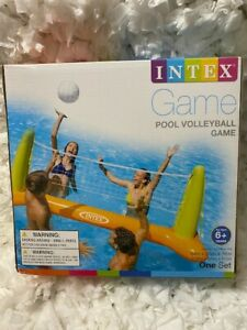 "Intex Inflatable Floating Swimming Pool Volleyball Game Toy Float 94""x25""x36"""