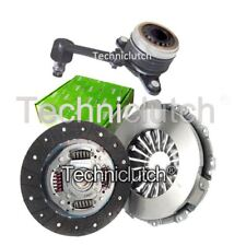 VALEO 2 PART CLUTCH KIT AND CSC FOR RENAULT KANGOO EXPRESS BOX 1.5 DCI