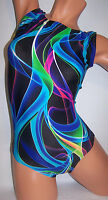 FlipFlop Leos Gymnastics Leotard,  Gymnast Leotards - ELECTRIC TWISTS