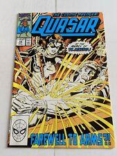 Quasar #10 May 1990 Marvel Comics