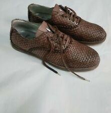 scarpe uomo vera pelle intrecciate botticelli limited misura 43     rare