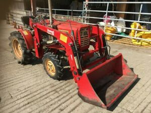 Yanmar YM1510d tractor with loader