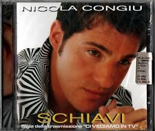 CONGIU NICOLA SCHIAVI SIGLA TV CI VEDIAMO IN TV CD 2002 SEALED ITALY