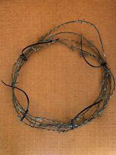 Antique/Vintage Barb Barbed Wire Coil App. 10' Display Craft Project