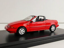 Premium x 1 43 VOLVO 480 Turbo Cabriolet 1990 (red)