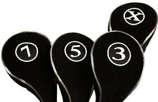 New Neoprene 3 5 7 X Wood Golf Club Headcover Set Head Covers Headcovers