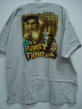 New Men's Duck Dynasty T-Shirt Light Grey Size XXL #136H