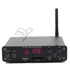 HIFI Amplifier Digital Bluetooth4.0 Audio AMP 160W+160W Support U-Disk APE Black