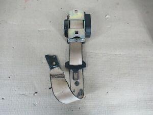 BMW E39 530I Rear Upper Seat Belt Buckle Beige 72118198485OEM