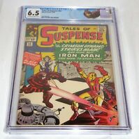Tales of Suspense #52 CGC Universal Grade Comic 6.5 1st Appearance Black Widow🔥