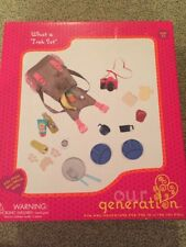"""Our Generation Dolls What A Trek Hiking Gear Set for Dolls, 18"""""""