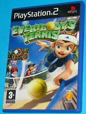 Everybody's Tennis - Sony Playstation 2 PS2 - PAL