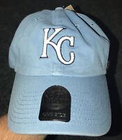 NWT MLB Kansas City KC Royals 47 Brand Adjustable Strapback Blue Baseball Hat