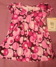 Bonnie Baby 12 months infant girl poka dot dress
