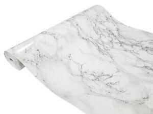 Klebefolie Selbstklebende Möbel Küche Bad Folie 7€/m² Tapete Marmor Granit grau