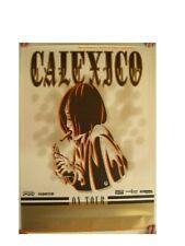 Calexico German Concert Tour Poster