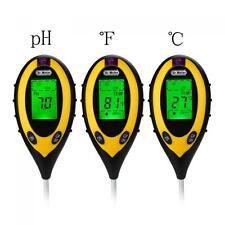 Pro S20 4-in-1LCD Temperature Moisture Sunlight Soil PH Garden Soil Tester Meter