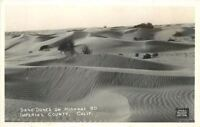 1940s Imperial County California Red Cross San Dunes Highway 80 RPPC 6818