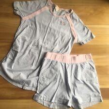 Peter Alexander Grey Summer Maternity PJ Set - Size XS