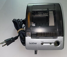 Brother P Touch Ql 500 Thermal Label Printer With Cords Excellent Condition