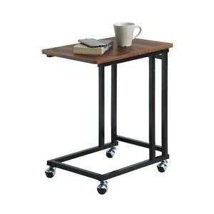 Sunnypoint Classic Side Table, Mobile Snack Table for Coffee Laptop Tablet Sofa