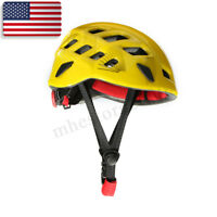 Rescue Safety Helmet Outdoor Climbing Caving Rappelling Head Protective Hard Hat