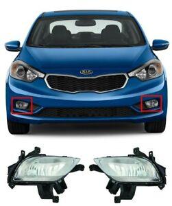 For Forte Sedan / Forte 5 2014 2015 2016 Front Bumper Fog Light Lamp Foglights