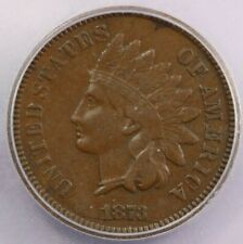1873 Indian head cent Open 3 ICG VF20