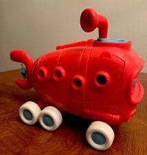 Mattel Imaginext Spongebob Squarepants Red Bus Attached Driver Bikini Bottom