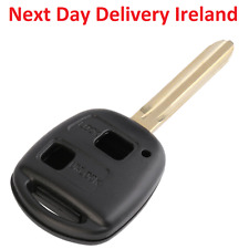 Replacement Blank Car Key Toyota Corolla Celica Rav 4 Yaris Hiace A16 2 Buttons