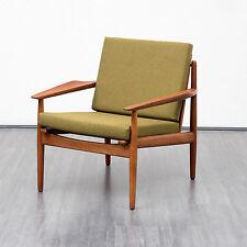60er Jahre Teak Sessel,dänisches Design,Arne Vodder für Glostrup,neu gepolstert