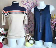 """Lot vêtements occasion femme - Pull """" Benetton """", Haut """" Pepe Jeans """" T: 38 / 40"""
