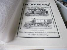Nutzfahrzeug Archiv 3 Sonderthemen 3020 Büssing 1905
