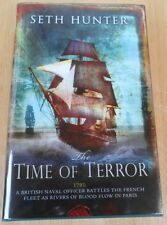 "Seth Hunter ""The Time of Terror"" 1st/1st Signed & Numbered Ltd. Ed. # 62/100"