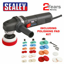 SEALEY SPK600 230V 600W POLISHER BUFFER KIT WITH PADS 700-2500 RPM