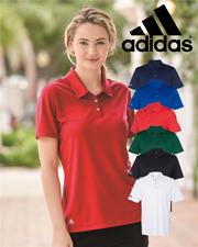 ADIDAS Womens Performance Sport GOLF Polo Sport Shirts Size S-3XL NEW A231